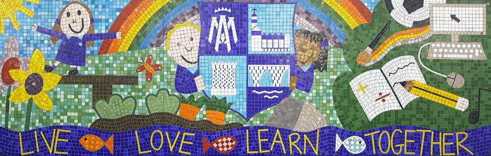 St Marys PS Mosaic