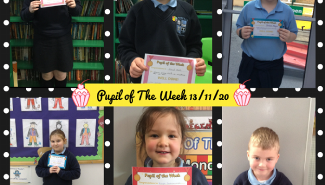 Pupil of The Week 2020/21